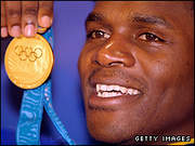 Audley Harrison Gold Medal Olympics Sydney 2000