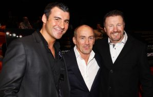 Steve Collins, Joe Calzaghe, and Barry McGuigan