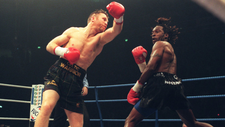 Steve Collins vs Nigel Benn