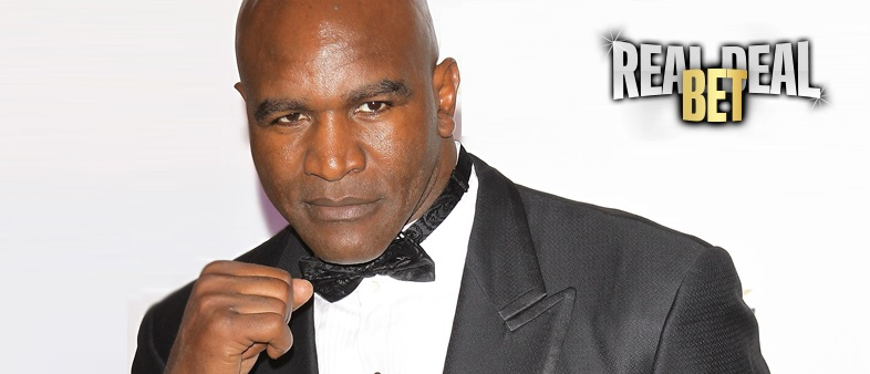Evander Holyfield discusses fighting Mike Tyson