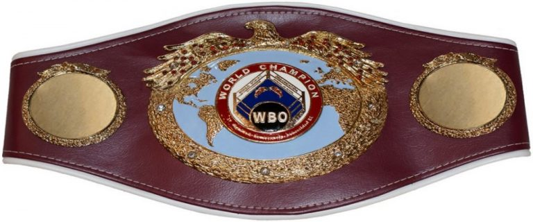 WBO Championship Belt - World Boxing Council - Boxing Organisations