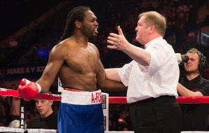 Audley Harrison - Things not going well.