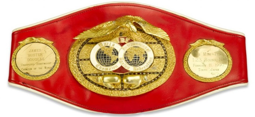 IBF Championship Belt - International Boxing Federation - Boxing Organisations