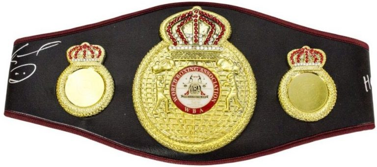 WBA Championship Belt - World Boxing Association - Boxing Organisations