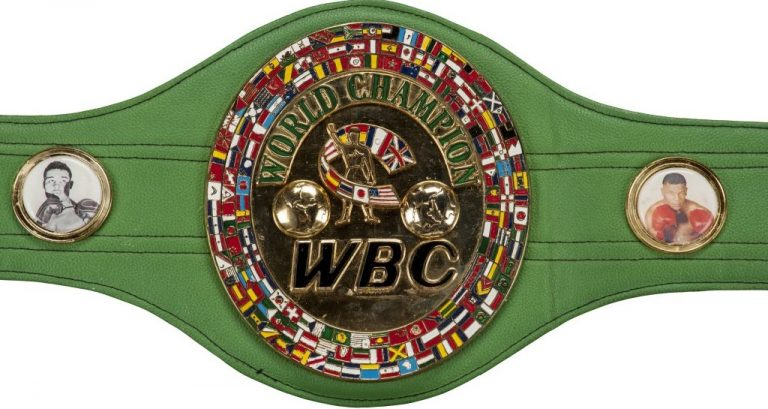 WBC Championship Belt - World Boxing Council - Boxing Organisations