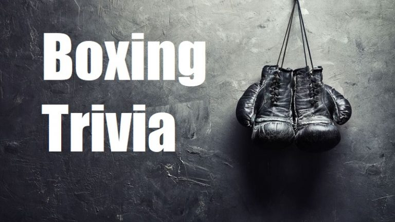 Boxing Trivia Facts