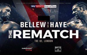 David Haye Tony Bellew 2 boxing betting odds