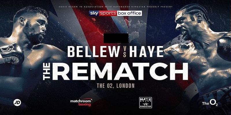 David Haye Tony Bellew 2 boxing betting odds