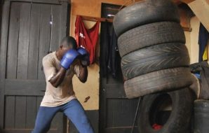 wierdest boxing training routines