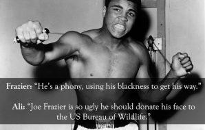 Muhammad Ali insult