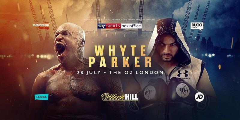 Dillian Whyte vs Joseph Parker odds