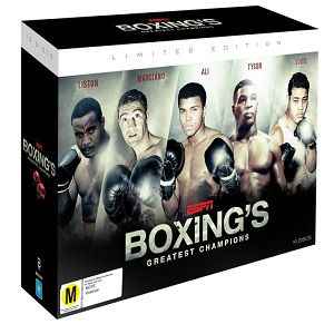 Boxing DVDs