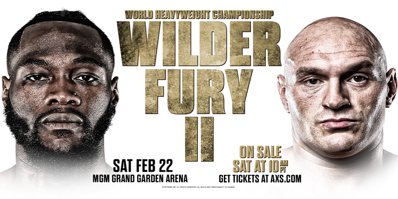 Deontay Wilder vs Tyson Fury 2 odds
