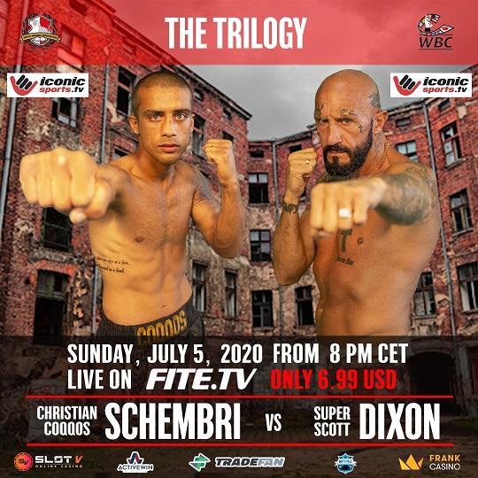 Boxing is back: July 5th Christian 'Coqqos' Schembri vs Scott Dixon