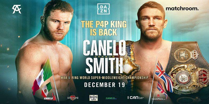 Saul Canelo Alvarez vs Callum Smith boxing betting odds